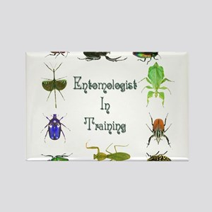 Entomologist In Training 2 Rectangle Magnet